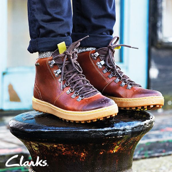 Clarks Autumn/Winter 2014 Collection | Men's boots | Nanu Hike | Outdoor  boots