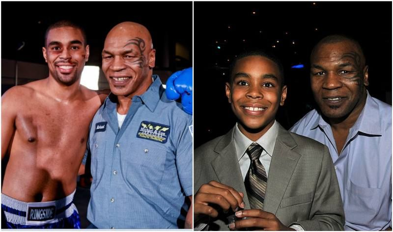 Retired Heavyweight Boxing Champion Mike Tyson S Family Wife And Kids Mike Tyson Family Mike Tyson Mike Tyson Kids