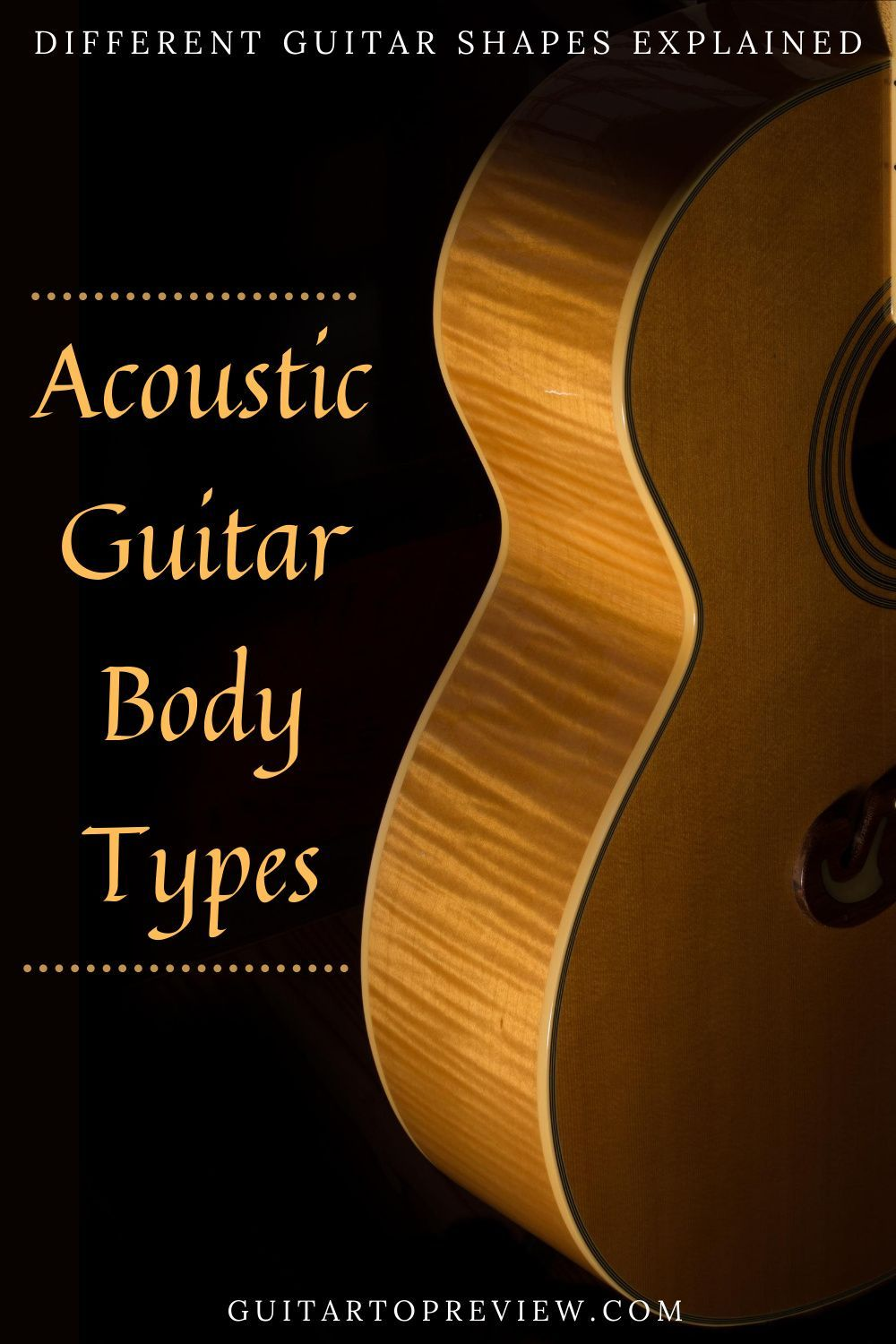 Acoustic Guitar Body Types Guitar Body Acoustic Guitar Guitar