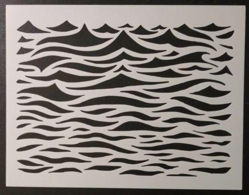 Ocean Waves Wavey Wavy Wave Water Pattern 11\