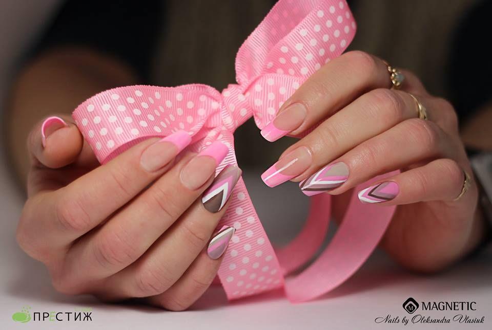 Nails by Oleksandra Vlasiuk - Magnetic Nail Design | Nails ...