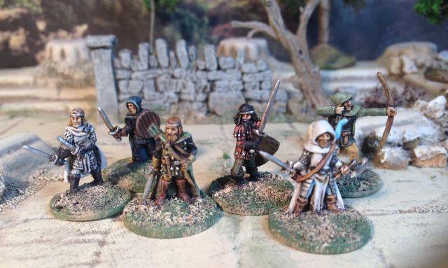 Splintered Light Miniatures fantasy Dungeon adventurers | 15mm