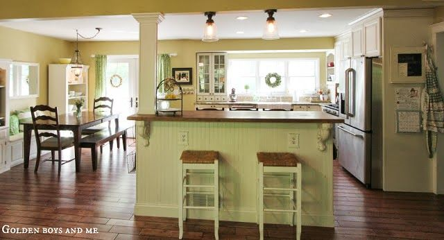 How Much Overlap On Kitchen Island Counter