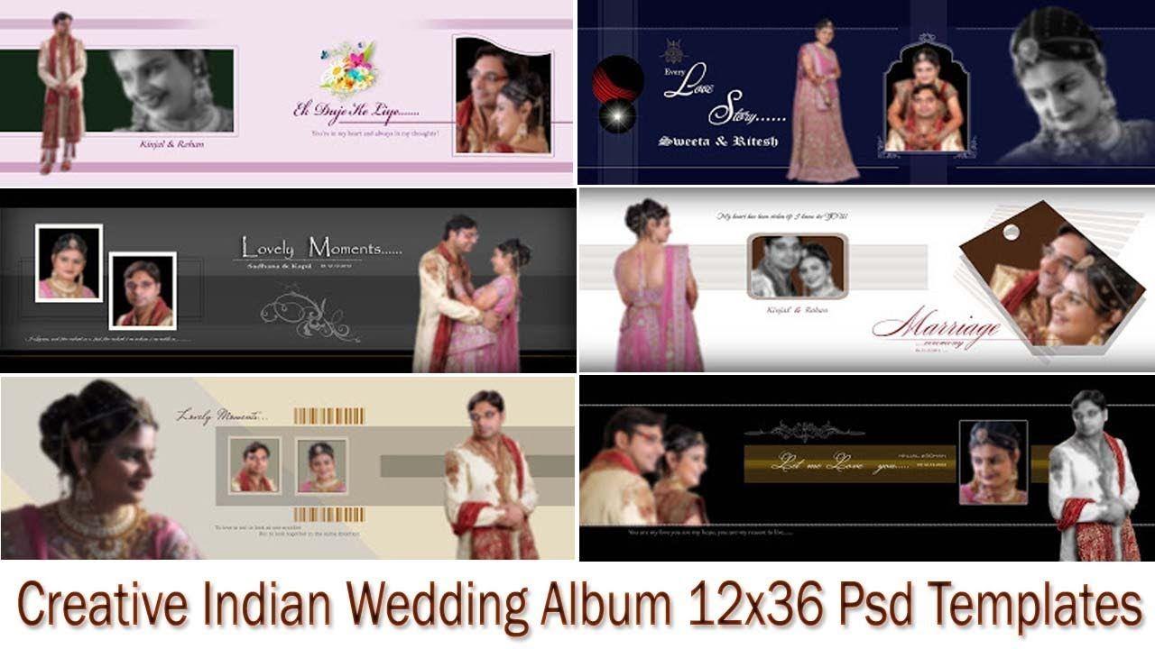 Creative Indian Wedding Album 12x36 Psd Templates By Studiopk Wedding Album Wedding Album Cover Indian Wedding Album Design