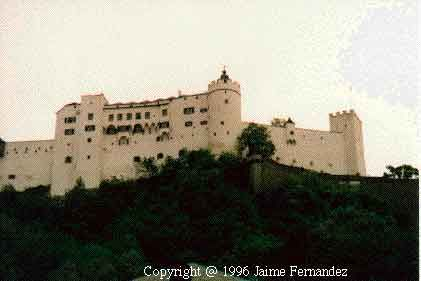 Austria has such beautiful castles. This is Hohensalzburg in Salzburg
