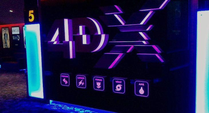 Coadă la filmele 4DX
