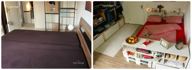 Schlafzimmer Vorher Nachher schlafzimmer vorher nachher diy saris garage 9