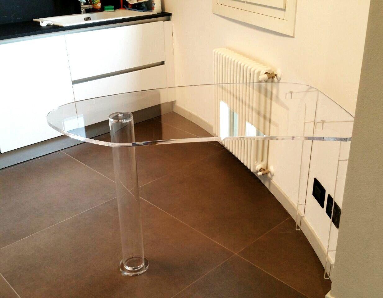 tavolo penisola per cucina di lab145 realizzato su misura per