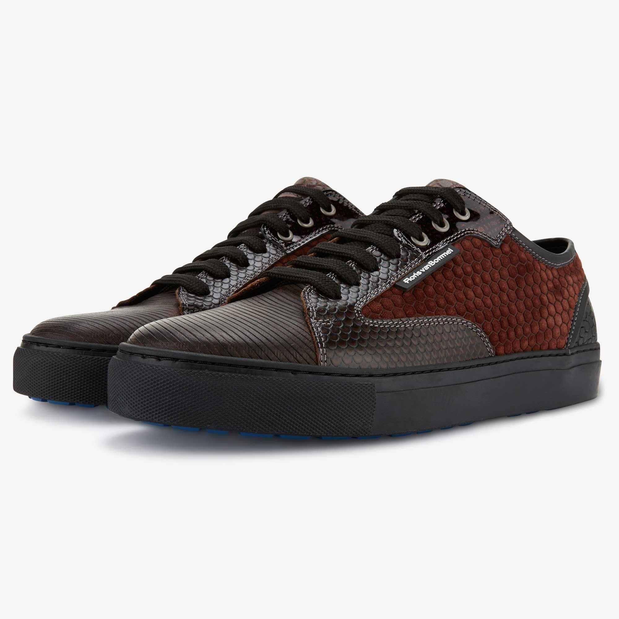 Dark Brown Leather Men S Sneaker 14319 03 Floris Van Bommel Shoes Mens Mens Shoes Online Men S Shoes