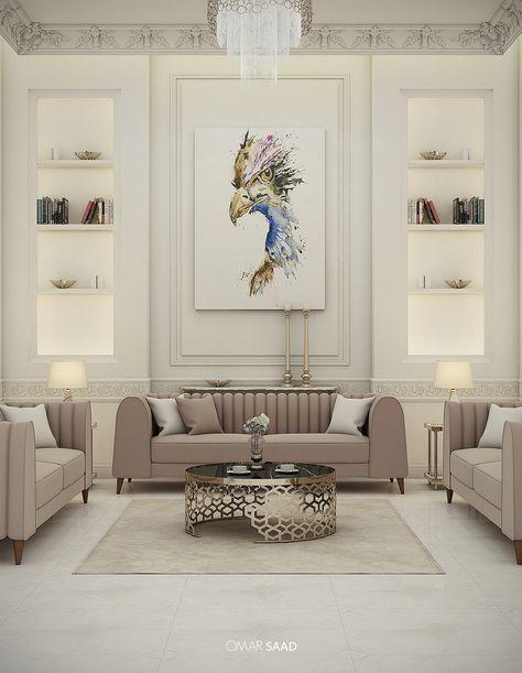 LUXURY CLASSIC VILLA - INTERIOR DESIGN - on Behance | Home Decor ...