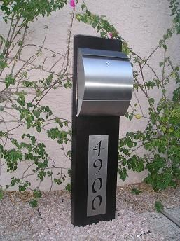 what does your mailbox say about you padstyle interior design blog modern