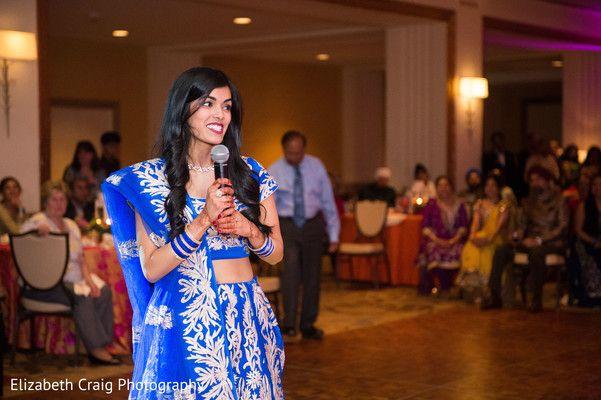 Sangeet celebration speech. http://www.maharaniweddings.com/gallery/photo/90046