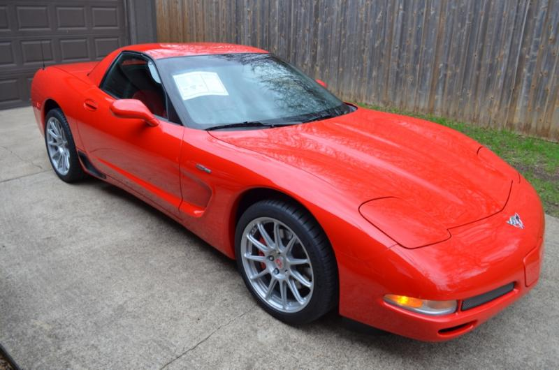 2003 Corvette Coupe For Sale In Texas 2003 Corvette Z06 243 Miles Corvette Corvette For Sale Red Corvette