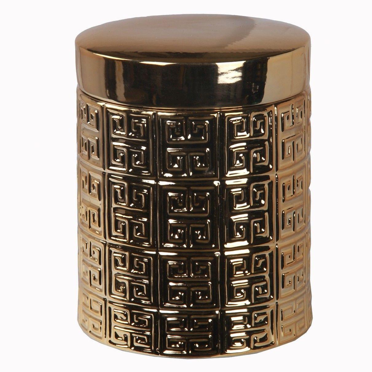 Lid Decorative Jar