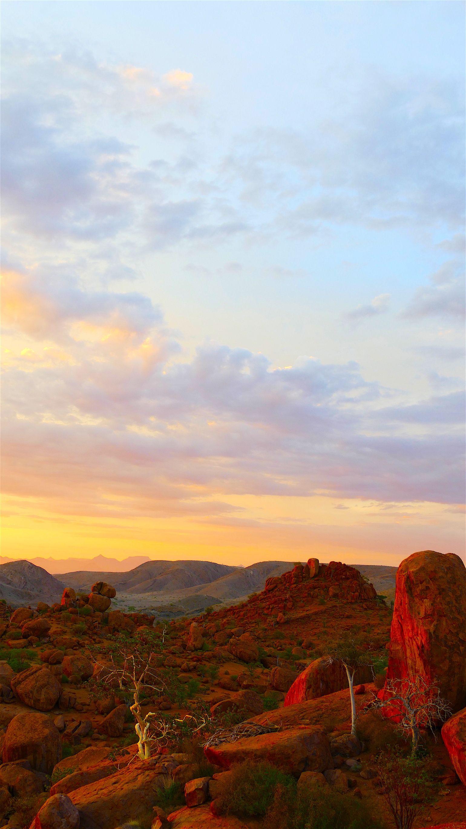 #Mountain #Sunset #Namibia #travel #Kaokoland