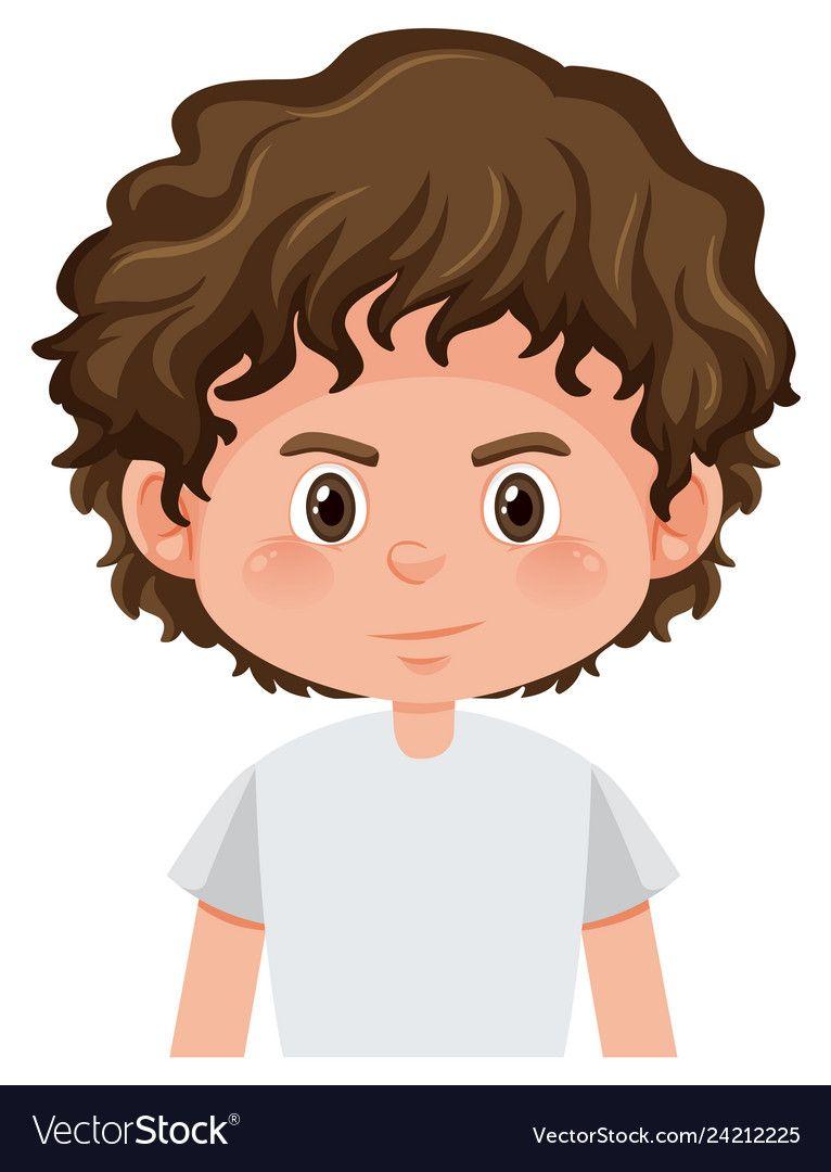 Curly Hair Cartoon Characters Boy Curly Hair Cartoon Boys With Curly Hair Hair Illustration