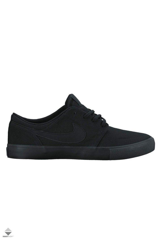 Buty Nike Sb Portmore Ii Solar Cnvs 880268 001 Black Nike Sb Portmore Nike Skateboarding