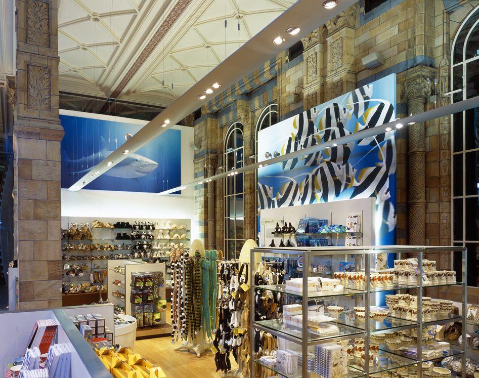 Natural History Museum (London) Museum shop Design agency ...