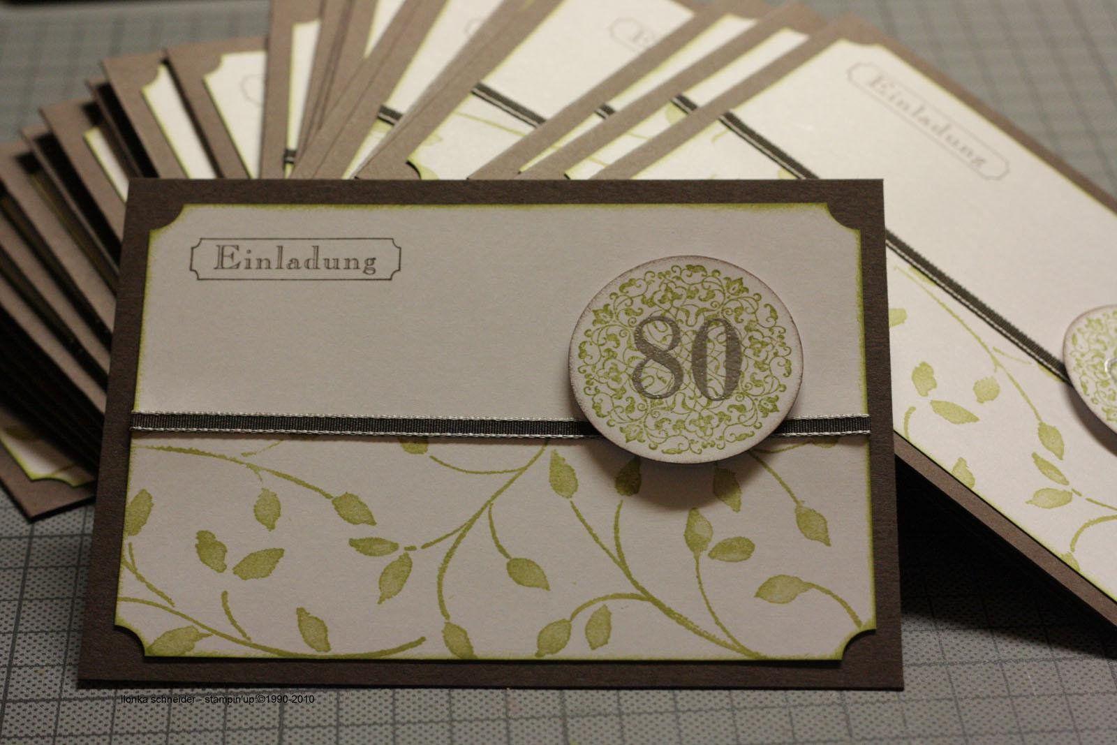 Einladung 80 Geburtstag Einladung 80 Geburtstag Einladung