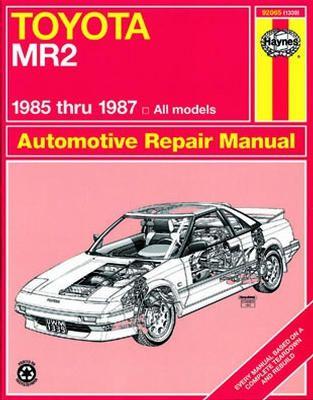 1992 toyota mr2 repair manual