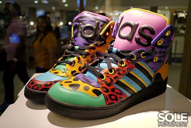 Jeremy Scott x Adidas Originals Instinct HI  Animal Print .  Adidas   sneakers  kicks  shoes  jeremyscott  adidasoriginals 2cf42ac64f21