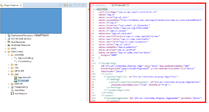 SMART tables –Backend (ABAP-CDS) and Frontend example with