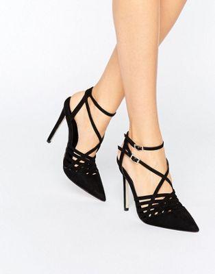 ASOS PEPPIN - Chaussures à talons à bout pointu effet cage Faible Expédition En Ligne Recommander Prix Pas Cher 8MgqKEcuRX