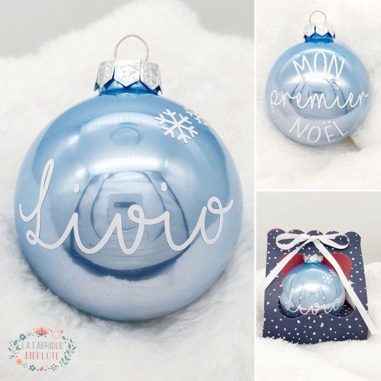 ⭐ Ma première boule de Noël ⭐ | Boule de noel, Boule de noel