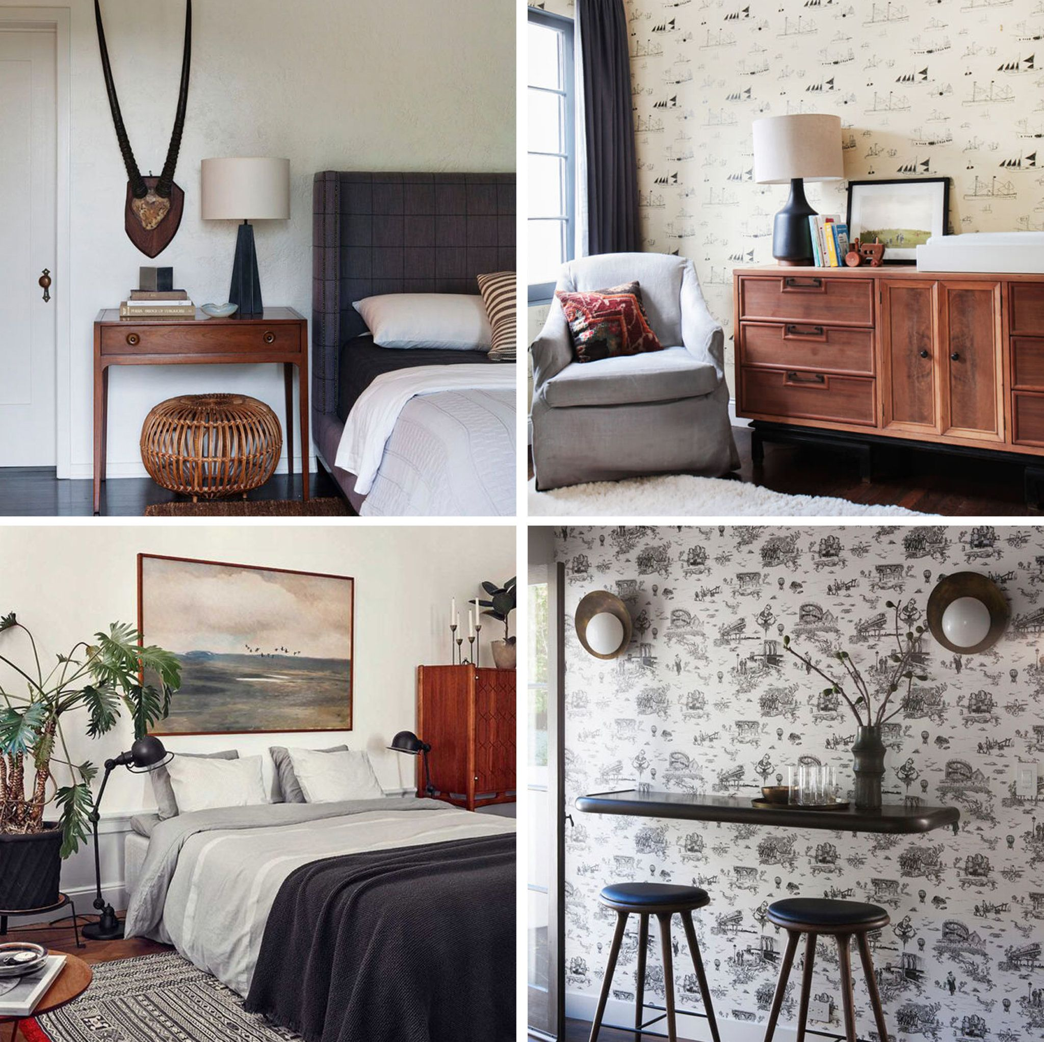Traditional Eclectic Bedroom Introduction + Shop The Look