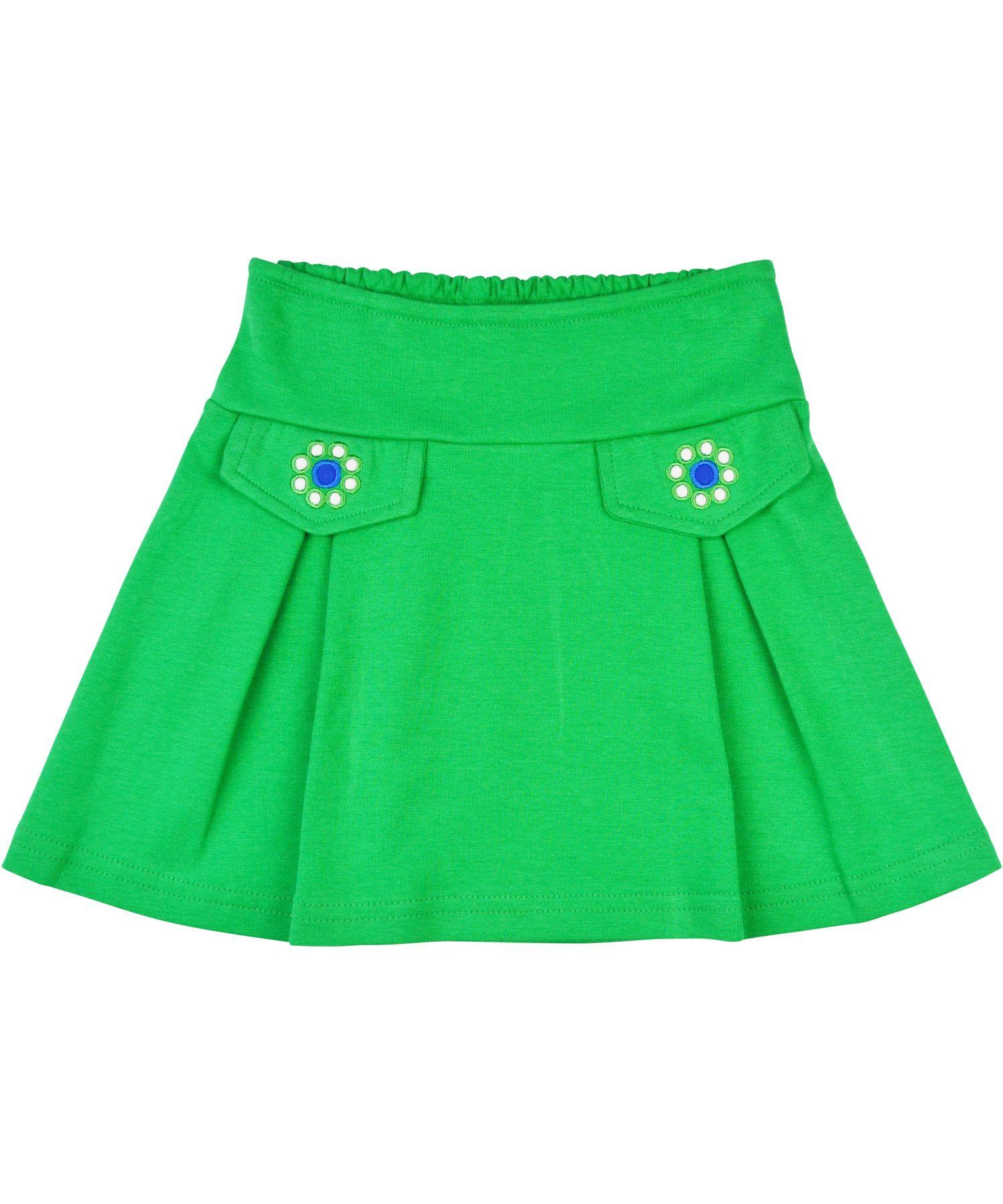 Baba Babywear charmant groen rokje met bloemetjes. baba-babywear.nl.emilea.be