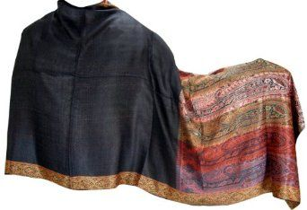 ClothesCraft Evening Indian Clothing Scarves Women Jamawar Wrap - 80 inches x 28 inches ClothesCraft. $37.00