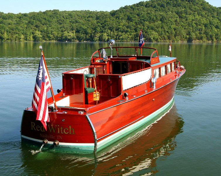 38 Feet 1929 Chris Craft Commuter Owned By Alan Jackson