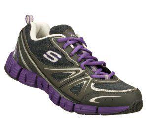 Women's Skechers Stride - Gutsy - PurpleGray