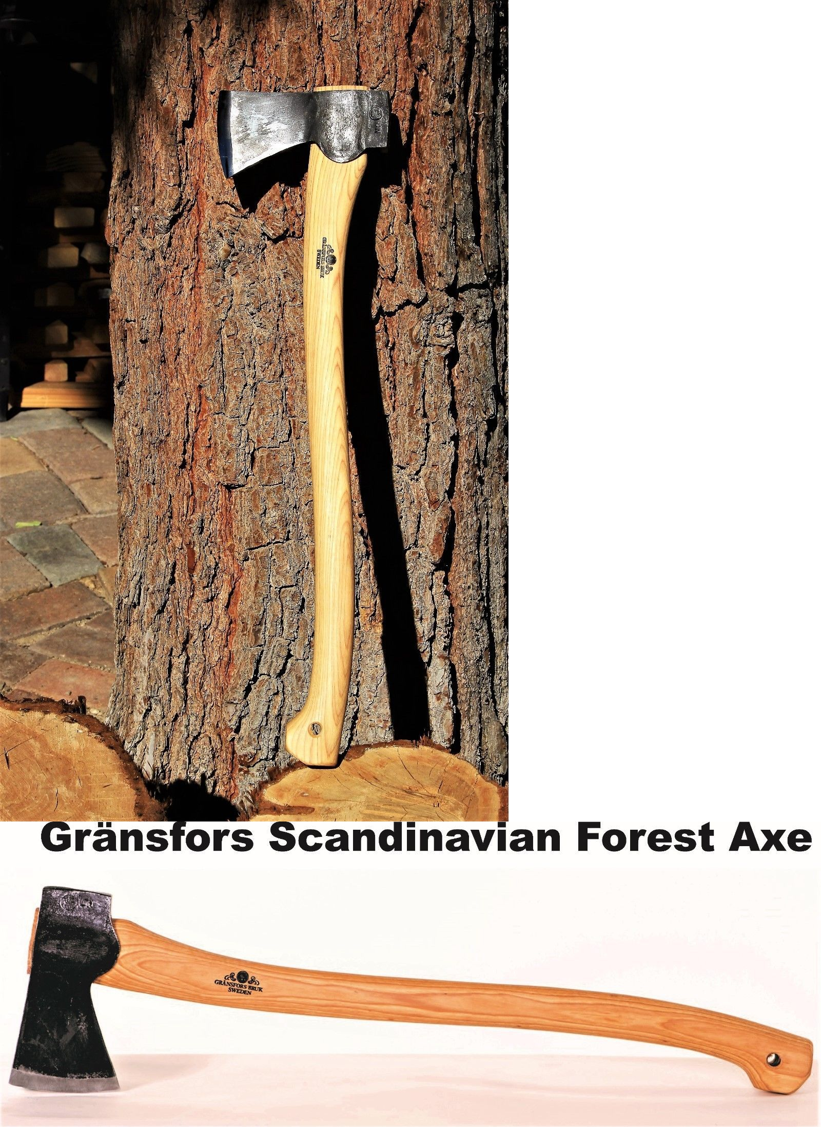Camping Hatchets And Axes 75234 Gransfors Bruk Scandinavian Forest Axe 430 Buy It Now Only 178 5