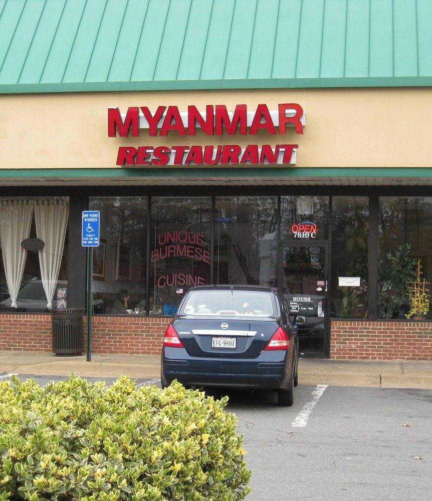 Myanmar Restaurant Falls Church Va