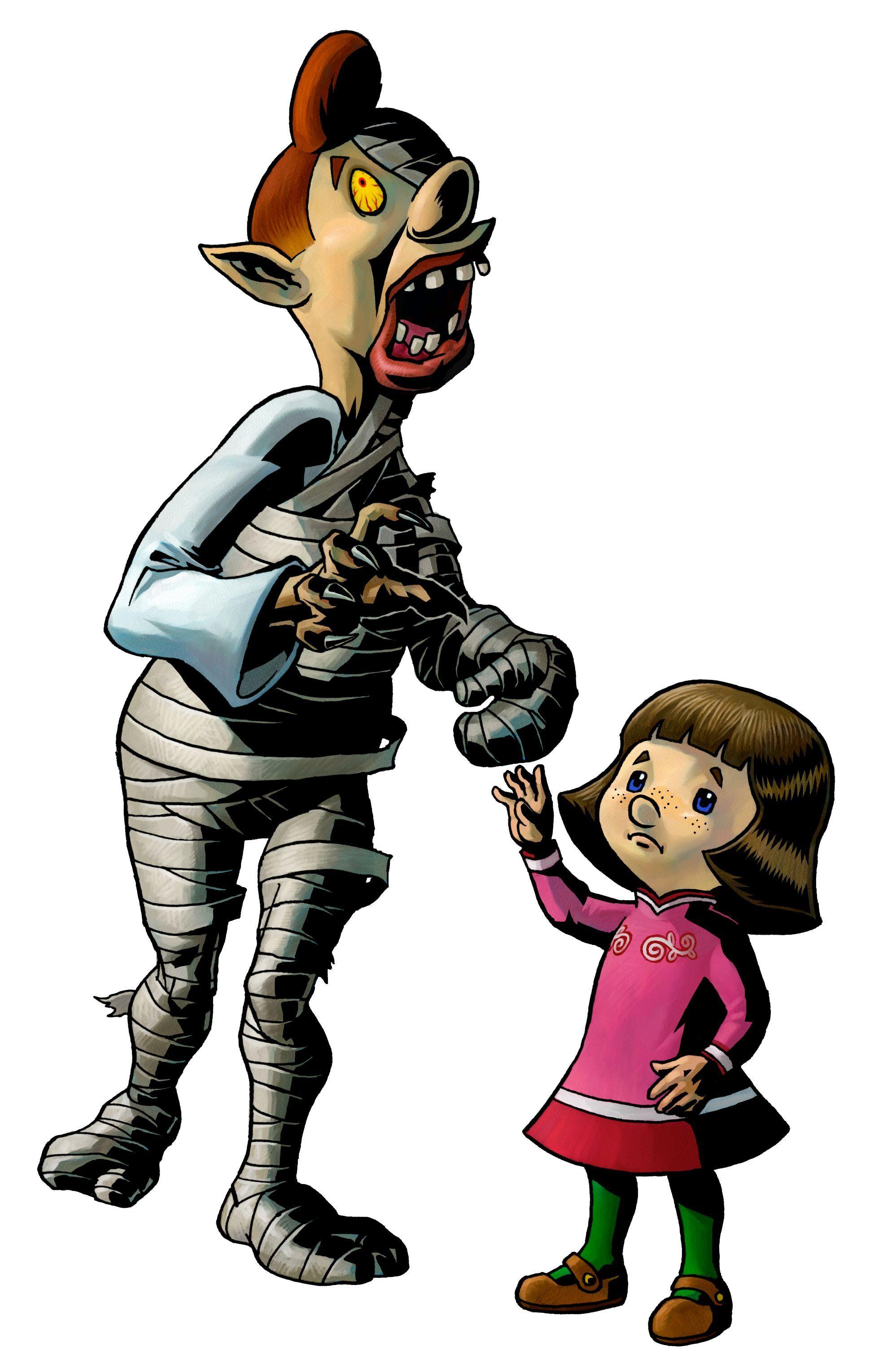 Link and the Goron's Mask - Legend of Zelda: Majora's Mask ...