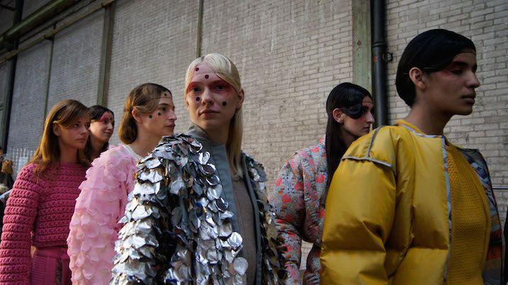 Doing Fashion: Institute of Fashion Design Basel Graduate Show 2015   sleek mag