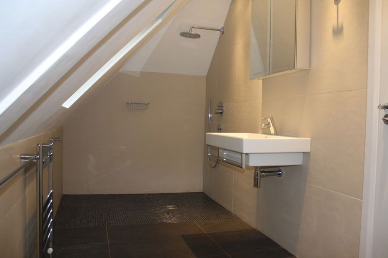 Small wet room google search bathrooms pinterest for Bathroom ideas loft conversion