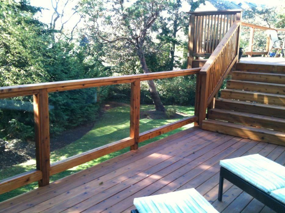Balcony Railing Deck Stairs Railings Gl Outdoor