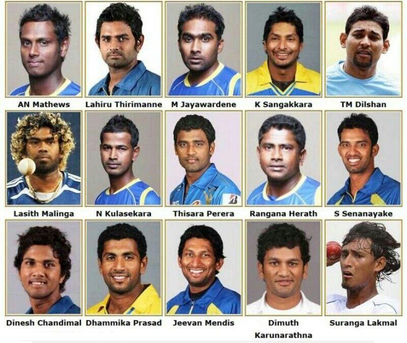 Pin On My Country Sri Lanka Cricket Team