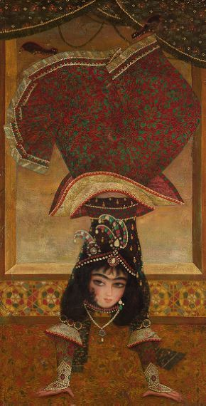 Persian dancing girl, 20th century art (keeps popping up as 17th century) Harvard library, USA