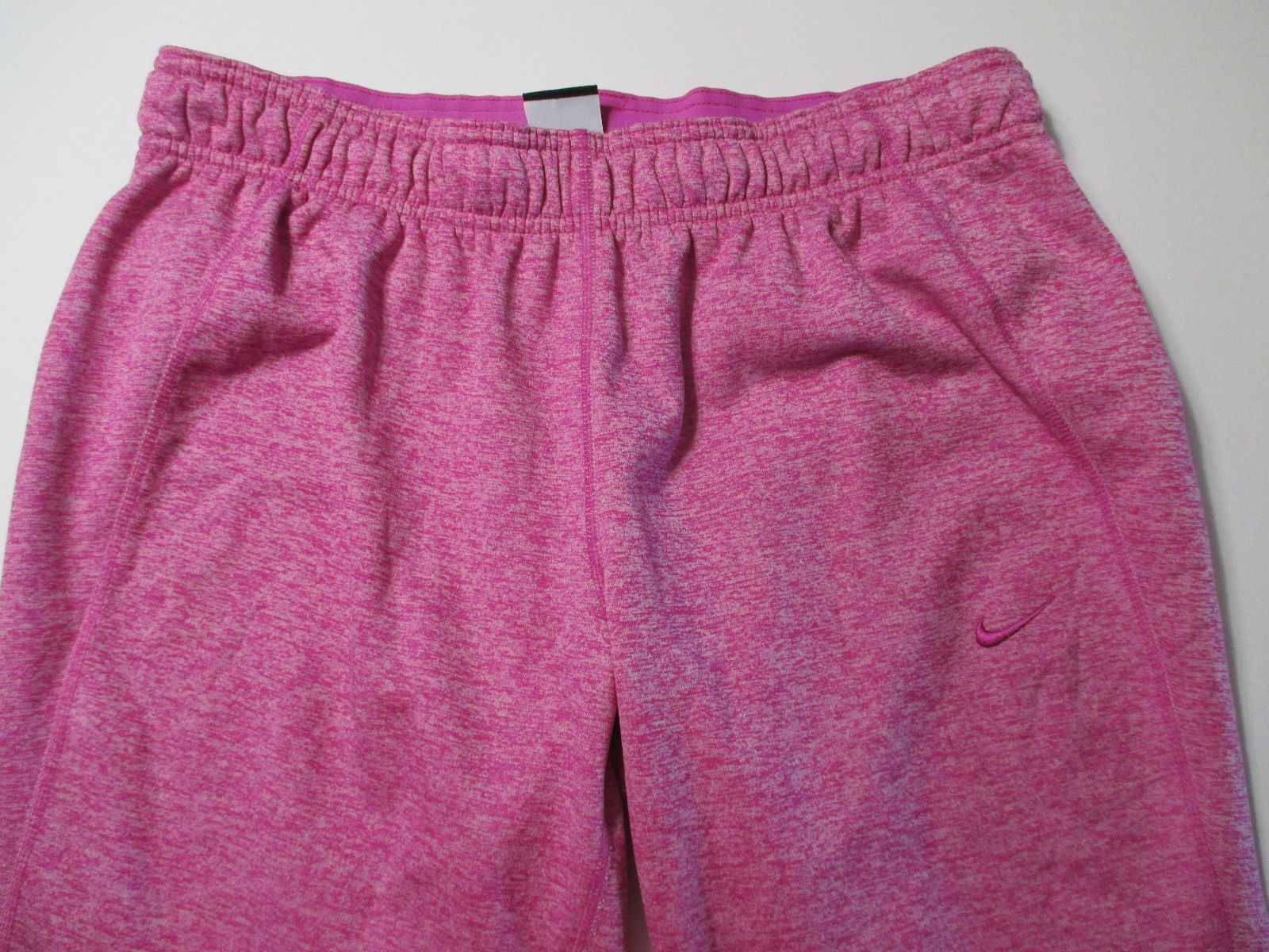 Women's Nike Therma-Fit Soft Sweat Pants/Capris Sz Large Pink Nike Therma-Fit