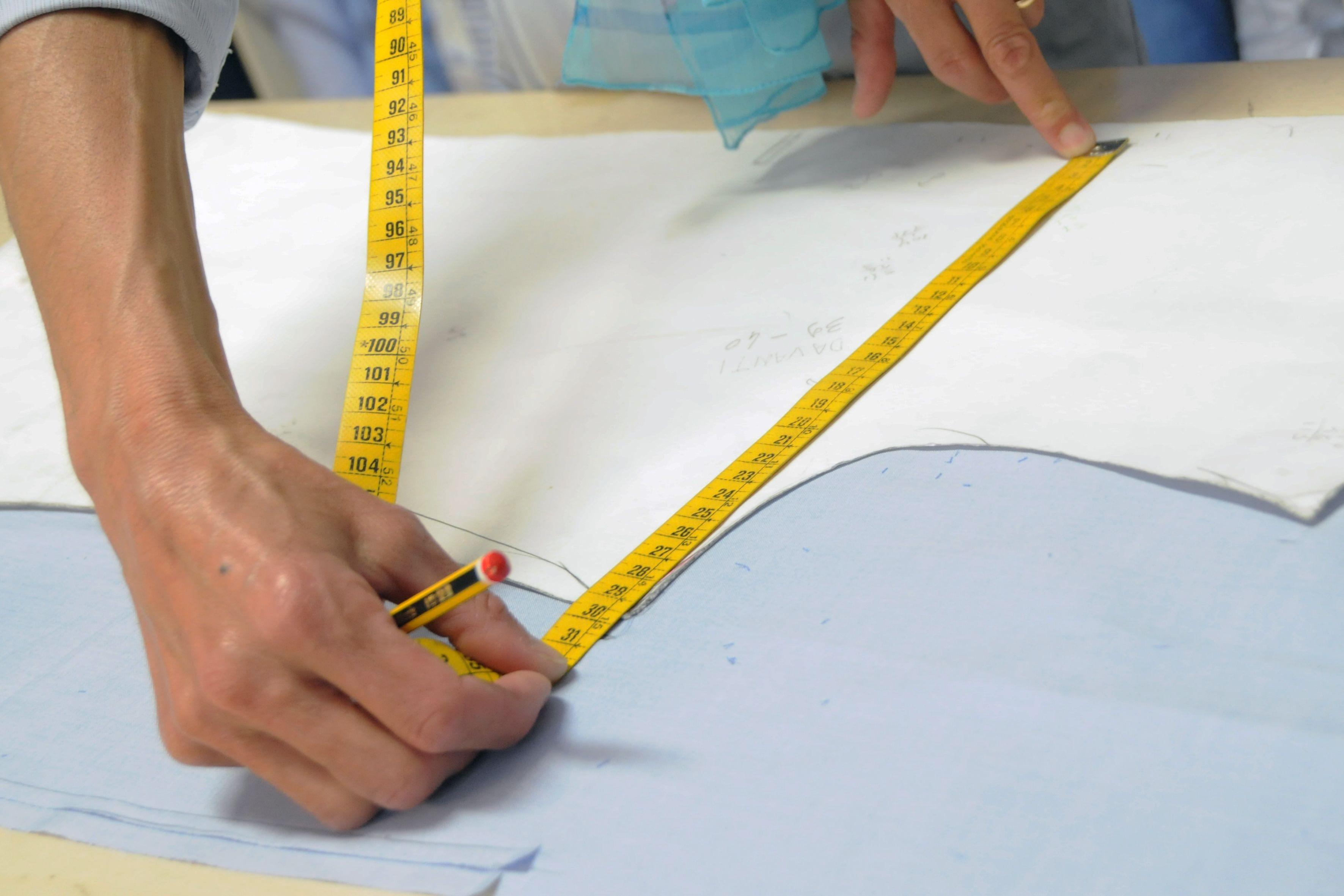 FASE 3 - disegno e creazione del cartamodello