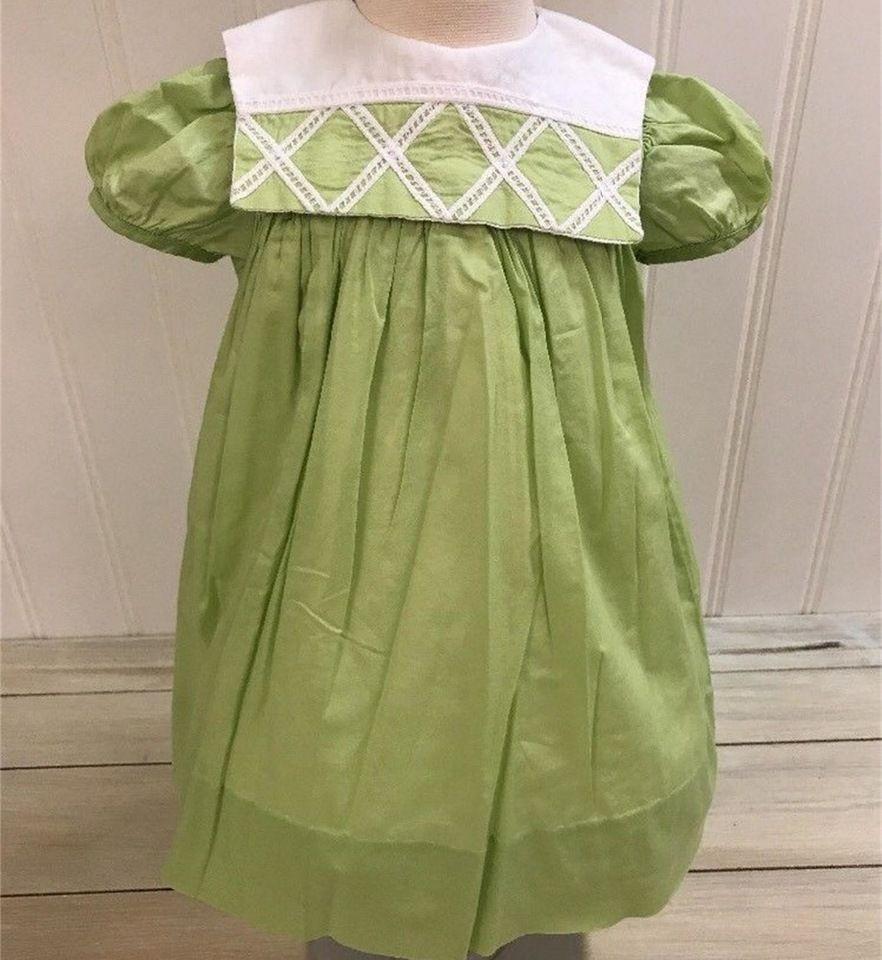 24d2b217b9 2018 New Arrival Latest Design Baby Clothes Beautiful Short Sleeve green  Cotton kids girls ruffle dress