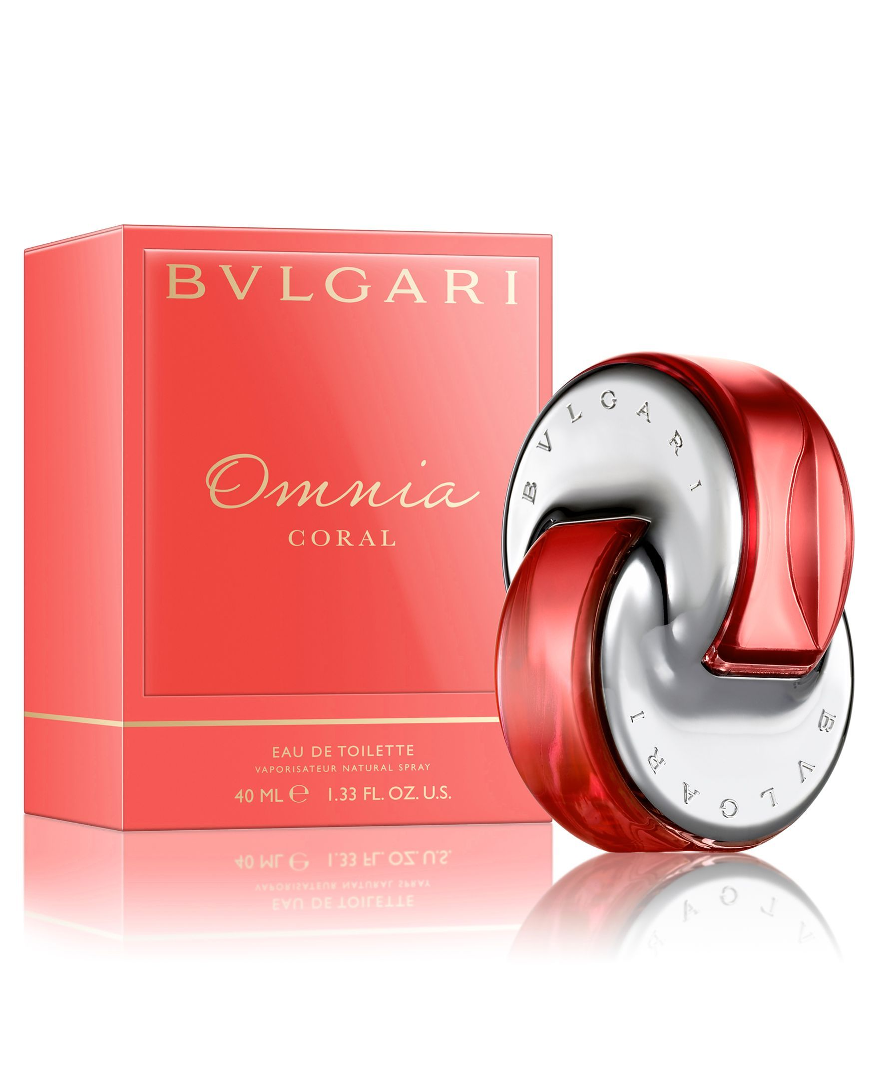 98bd35db23d42 Bvlgari Omnia Coral Eau de Toilette Spray, 1.3 oz   Fragrance ...