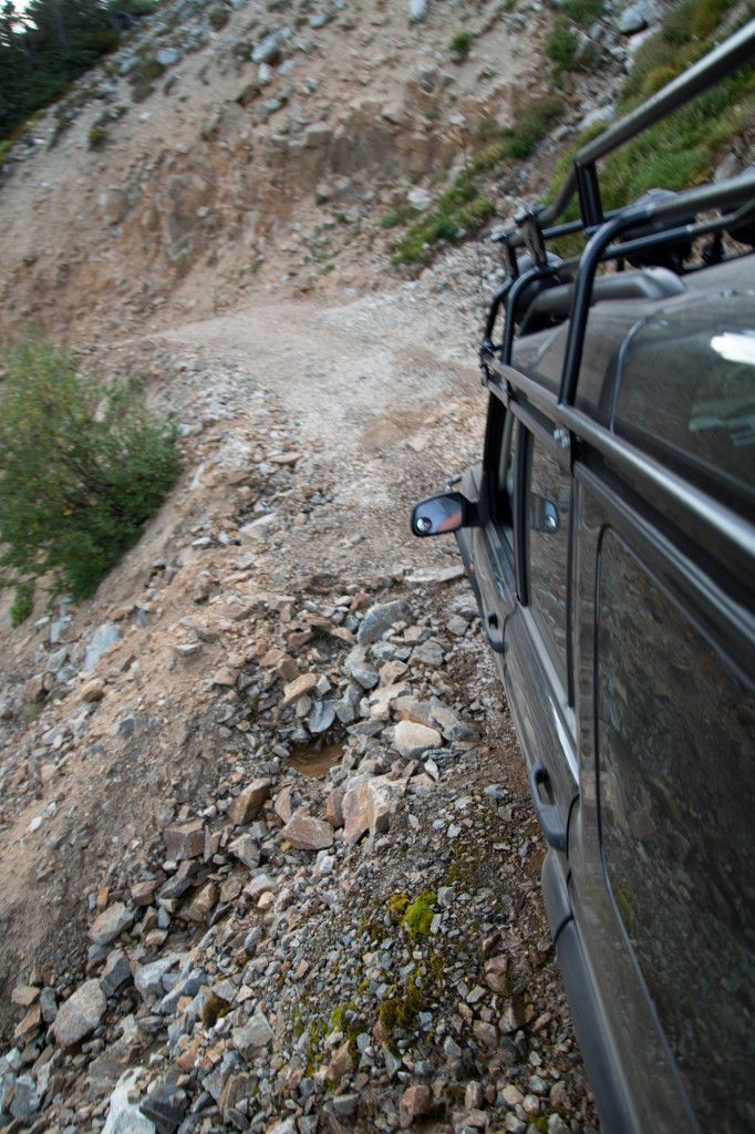 Texas Creek Ochi Basin Blowdown Pass Overland Rover Land Rover Discovery Land Rover Off Road Adventure