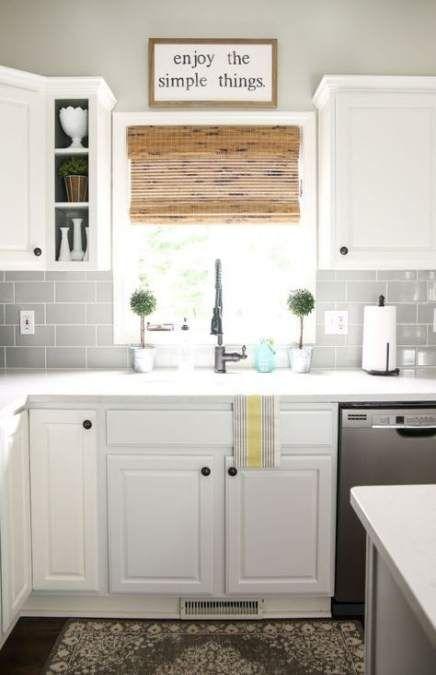 29 ideas kitchen farmhouse tile white cabinets for 2019