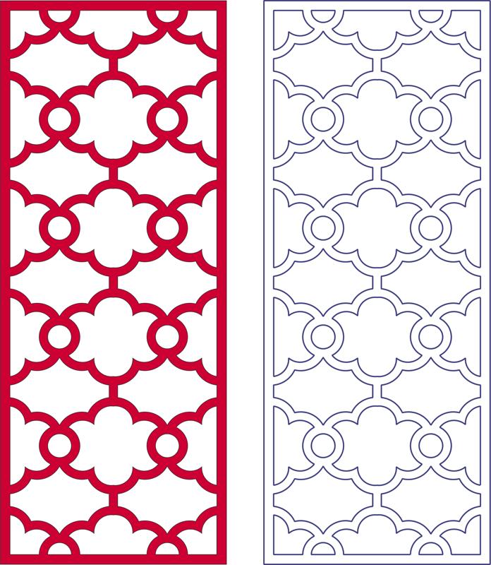 Lattice Pattern dxf File Free Download   Free DXF Patterns