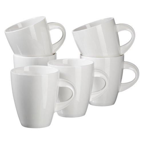 Brayden Studio Pontus Porcelain Coffee Mug Set Of 6 Porcelain Mugs Coffee Mug Sets Mugs Set