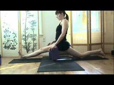 a step by step guide to get you deeper into spilts preparation and the pose itself! by Sadie Nardini